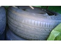 """Wheel And Rim Great tyres Citroen Peugeot 15"""" some 16"""""""