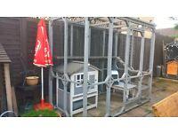 Outdoor Cat run/enclosure 4 x 8 x 7ft