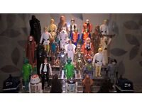 WANTED - VINTAGE STAR WARS TOYS. COLLECTIONS / ITEMS, ANYTHING CONSIDERED. CASH PAID AND WILL TRAVEL