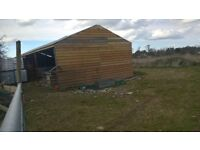 barn for sale with 2.5 acres grass land