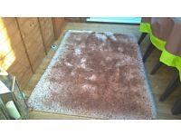 homesense high pile rug 6ft x 4ft