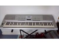 Yamaha Dgx-205 76-key Portable Keyboard with Midi and Built-in Song Sequencer.