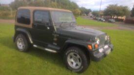 wrangler jeep 4.0 litre petrol