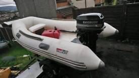 Valiant rib boat