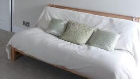 Two seater futon (sofa-bed)