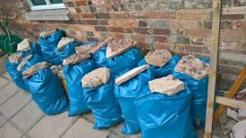 7 Bags of Rubble Ready to go