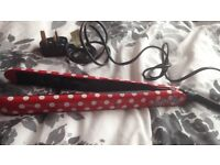 Minnie Mouse hair straighteners, good as new!!!