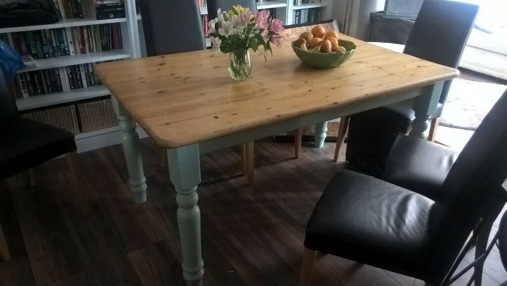 Solid Pine Dining Table 60 Ono