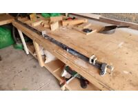 4x 1800mm / 6ft / 6' Hilka T-Bar Sash Clamp
