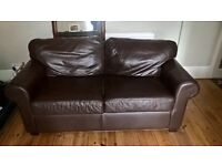 Ikea 2 Seater Leather Sofa. Good Condition, bargain at £20