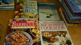 Cookery health and david attenborough book bundle