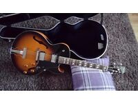Epiphone e175 arch top limited edition