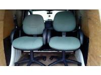 2 x office chairs..Condition like new £45 for both!