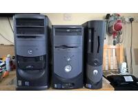 Various Windows XP pc's
