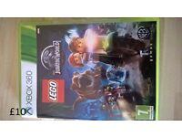 jurassic world lego xbox 360