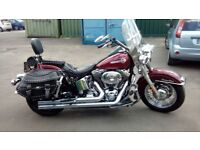 Harley davidson heritage 1450 cc excellent condition