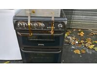 hot point brown Gas cooker 60cm...cheap Free delivery