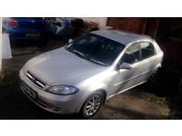 Daewoo Lacetti Sx 2004 5 Door bargain cheap Chevrolet low miles