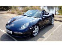 Porsche Boxster 2.7l, 2005 Manual, Low miles, FSH, MOT, SAT NAV, BOSE, XENONS