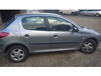 Peugeot 206. Good condition