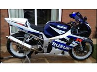 2003 Suzuki GSXR 600 K3 in excellent condition