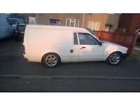 classic ford escort mk 4 van