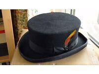 Top Hat - Black 'Dead Mans Top hat'