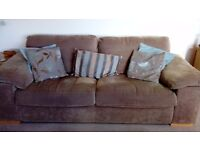 2&3 seater sofas arm chair and footstool