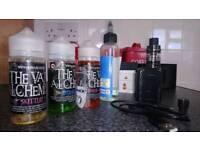 Vap vaping smok x priv baby mod and liquids