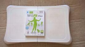 Nintendo Wii Balance Board & Wii Fit Plus