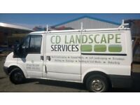 CD Landsacpe Services installers of Driveways Patios Turfing Fencing .