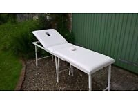 massage/treatment table for sale. lightweight but sturdy, in great condition. with bag.