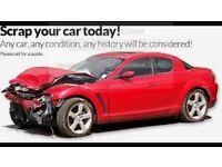 SCRAP CARS/ MOTORBIKES WANTED