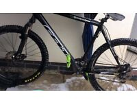 Felt mans mountain bike ....spares and repairs....brand new tyres,pedals,grips and derailier
