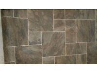 Vinyl flooring. Ultra grip Elements. (Monsoon colour 947e) 2.3x3 metres