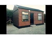 Log cabin - beauty salon / office