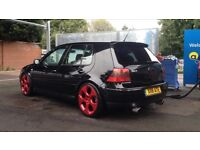 Swap px Golf GTI 1.8 20v turbo on coilovers 18's custom exhaust stunning