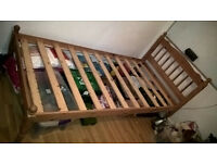 Pine Effect Single Bed
