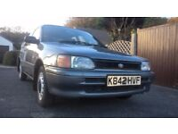 Toyota Starlet 1992 1;tr 12v EP80 not Glanza or turbo spares or repair