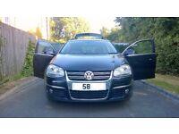 "2008 58 Black Volkswagen Golf 2.0 TDI 140 Sportline Manual Estate 5dr Car 17"" Alloys GTI GTE PX Swap"