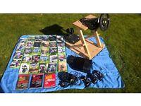 XBOX360 Console, accessories, games & books