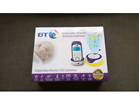 Digital Baby Monitor 350 with Lightshow, Room Temperature, Sounds, Two way talk back