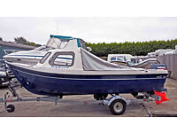 2005 Orkney 520 Fishing Boat with Yamaha 40 HP 2 Stroke
