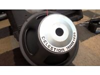 celestion truvox 1225 speakers chasis x4 mint condition 250w true power