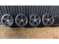 """BMW F20 alloy wheels and summer tyres 18"""" style 719M"""