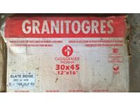 40 in number Spanish floor or wall tiles 300mm x 450mm