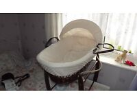 moses basket @rocker