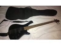 Stagg BC300-BL Fretless Fusion Bass Guitar