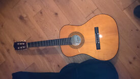 encore 3/4 size guitar enc 340 with carring bag