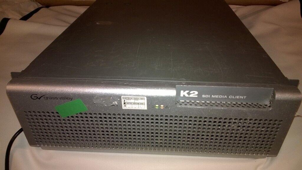 K2 SDI Media Client K2-SD-04 MULTI -CHANNEL VIDEO AUDIO MEDIA CLIENT SERVER